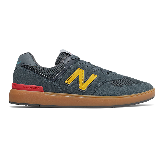 New Balance All Coasts 574 - Navy with Gum