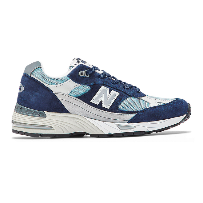 New Balance Made in UK 991 - Navy with Pale Blue