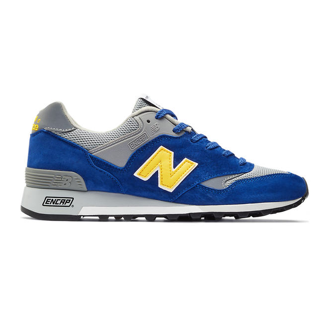New Balance Made in UK 577 - Blue with Yellow