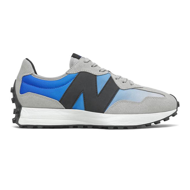 New Balance 327 - Cobalt Blue with Light Aluminium