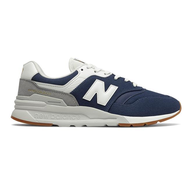 New Balance 997H - Natural Indigo with Gold