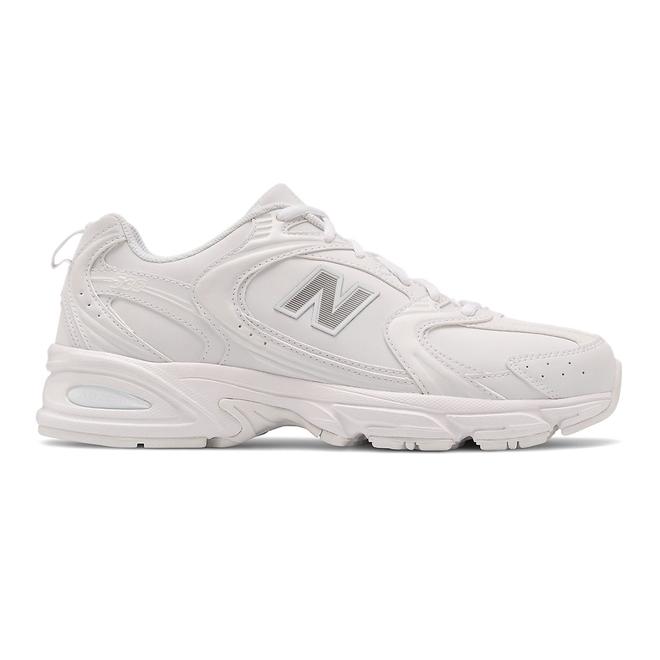 New Balance 530 - Munsell White with Silver Metallic