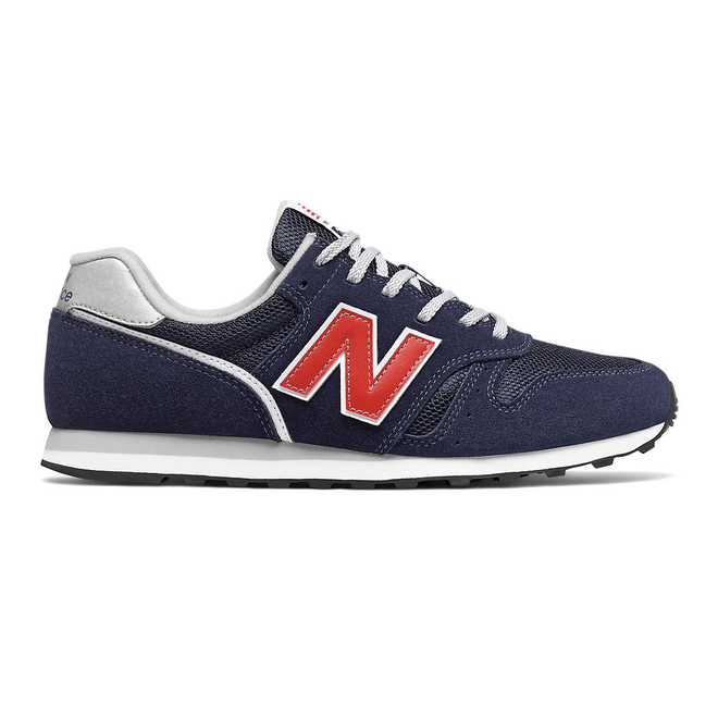 New Balance 373v2 - Navy with Red