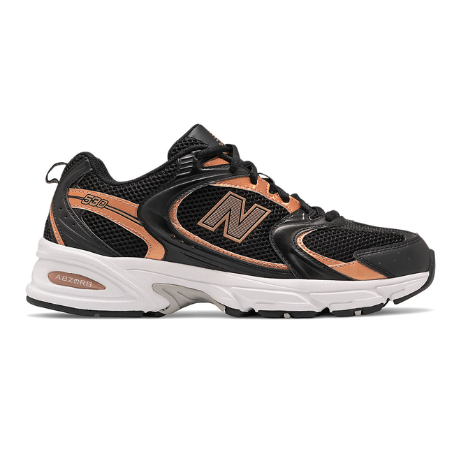 New Balance 530 - Black with Rose Gold
