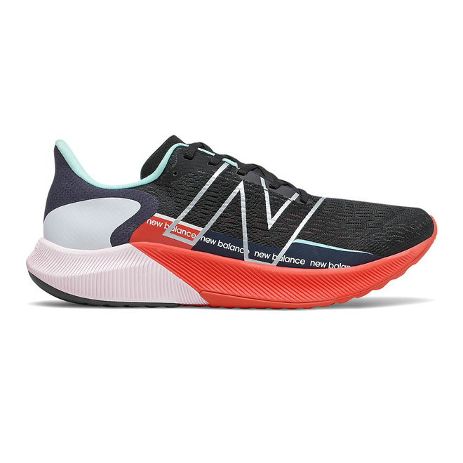 New Balance FuelCell Propel v2 - Black with Ghost Pepper