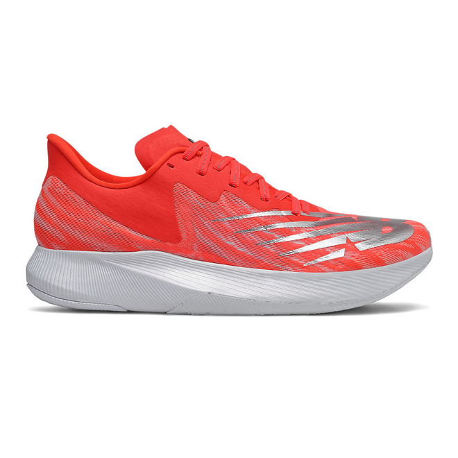 New Balance FuelCell TC EnergyStreak - Neo Flame with Light Aluminum & White