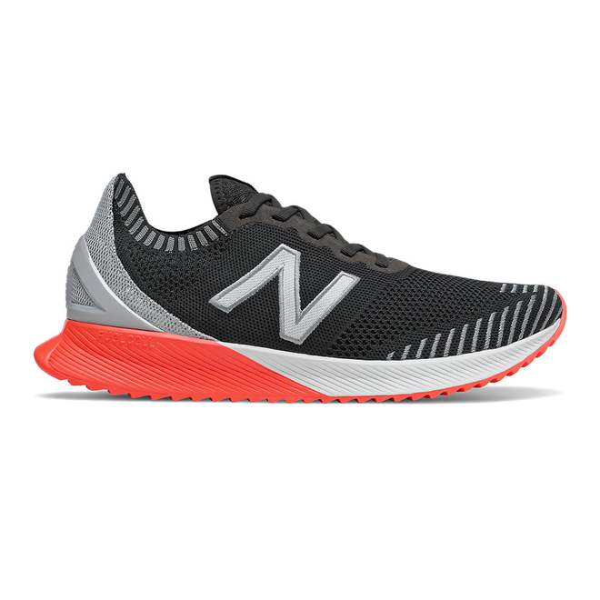 New Balance FuelCell Echo - Black with Steel & Neo Flame