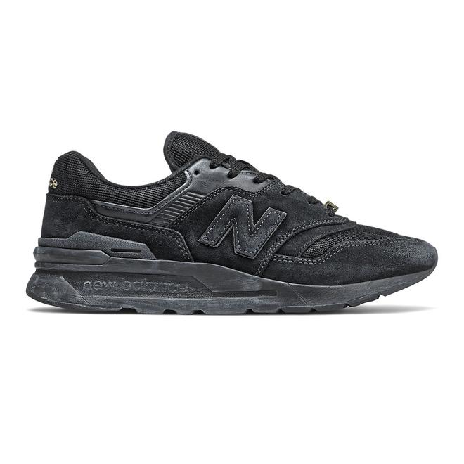New Balance 997H - Black with NB Light Blue