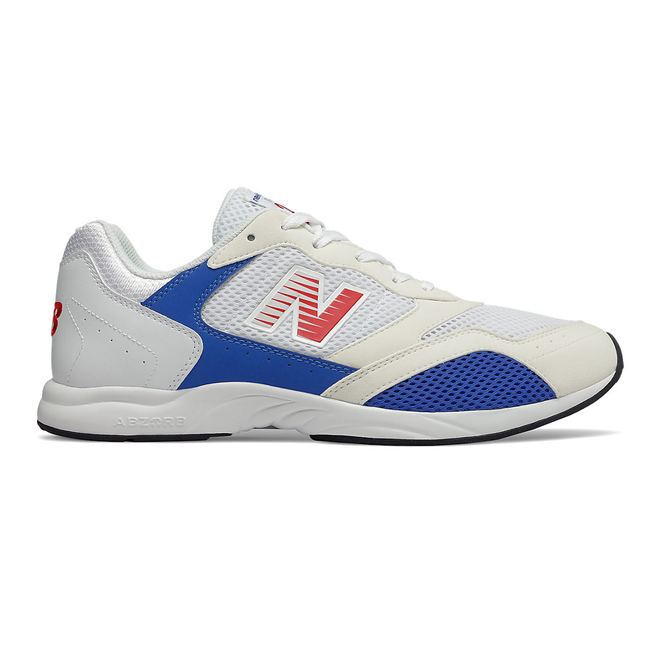 New Balance RC205 - White with Cobalt Blue
