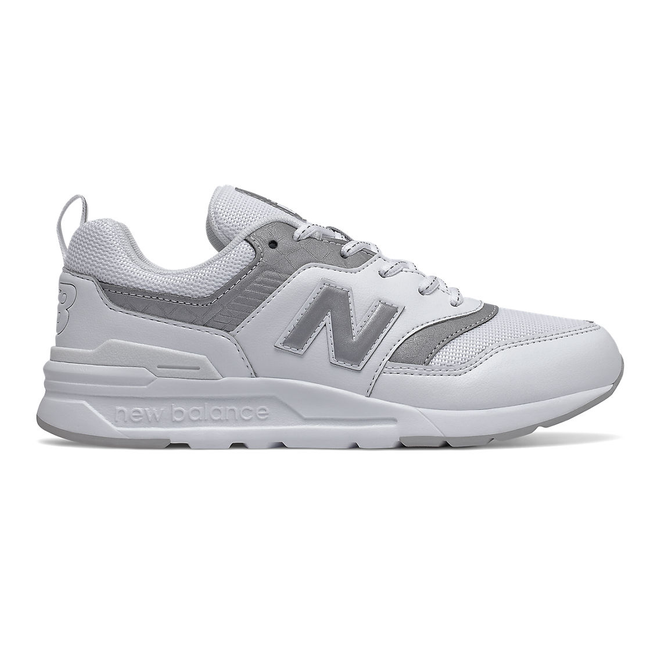 New Balance 997H - Munsell White with Silver