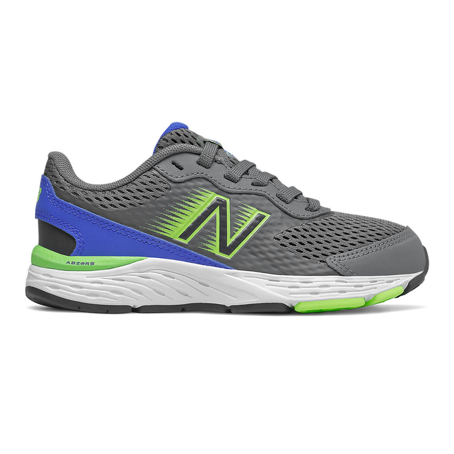 New Balance 680v6 - Lead with Cobalt Blue & Energy Lime