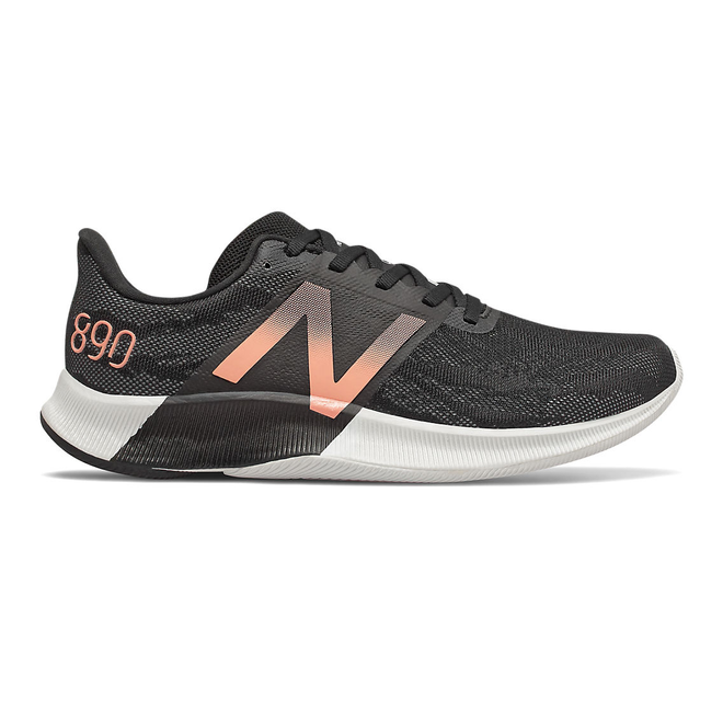 New Balance FuelCell 890v8 - Black with Thunder & Ginger Pink