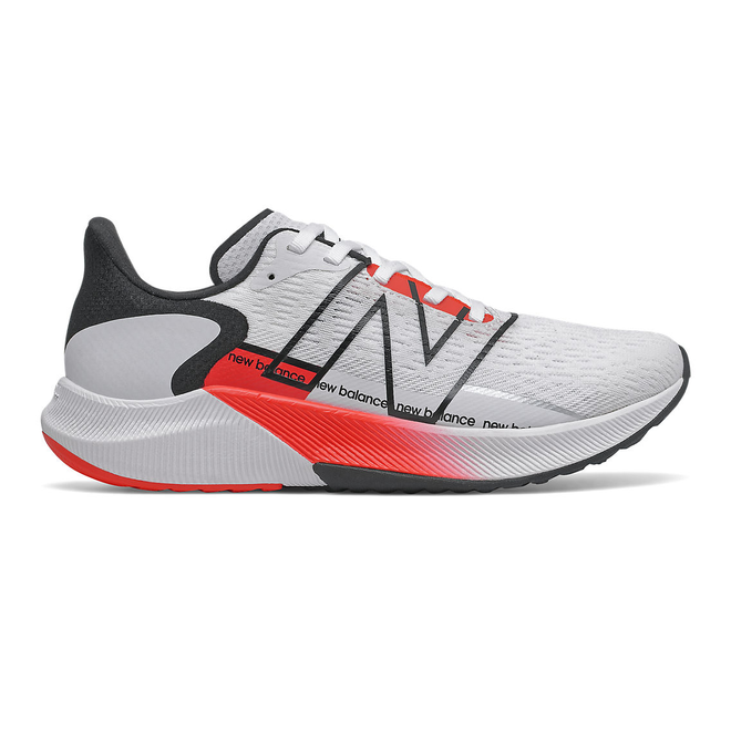 New Balance FuelCell Propel v2 - White with Neo Flame