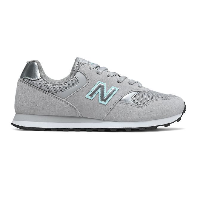New Balance 393 - Grey with Mint