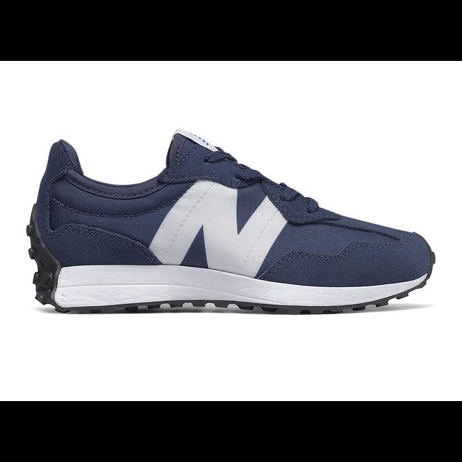 New Balance 327 - Natural Indigo with White