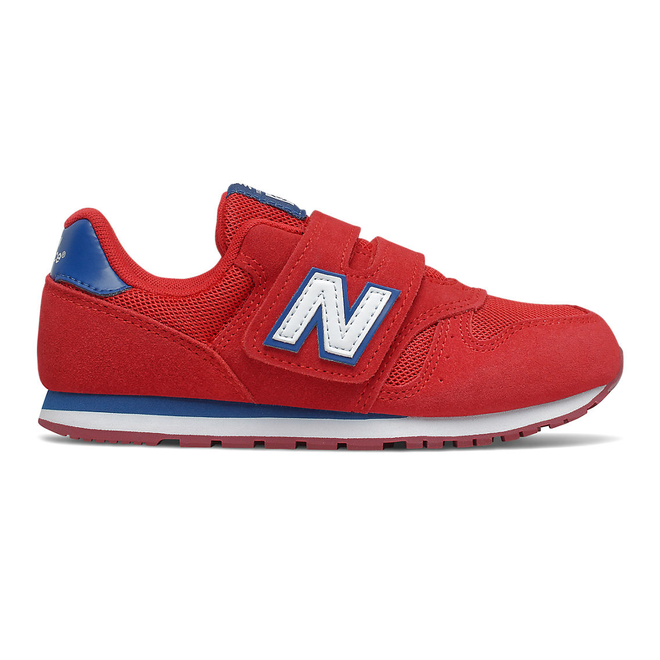New Balance 373 Hook & Loop - Team Red with Captain Blue