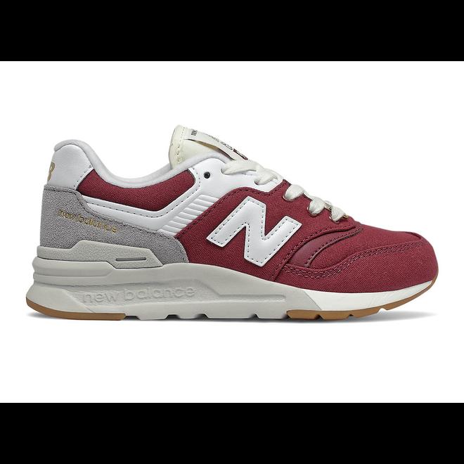 New Balance 997H - Burgundy with Grey