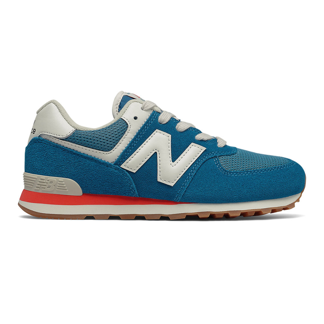 New Balance 574 - Light Rogue Wave with Ghost Pepper