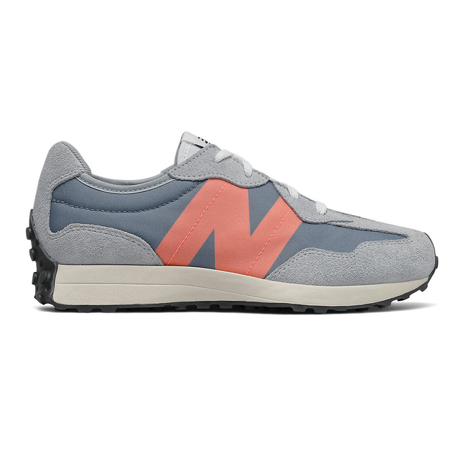 New Balance 327 - Ocean Grey with Paradise Pink