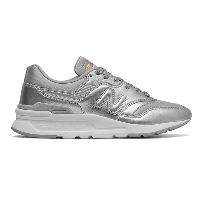 New Balance 997H - Silver Metallic with Rain Cloud