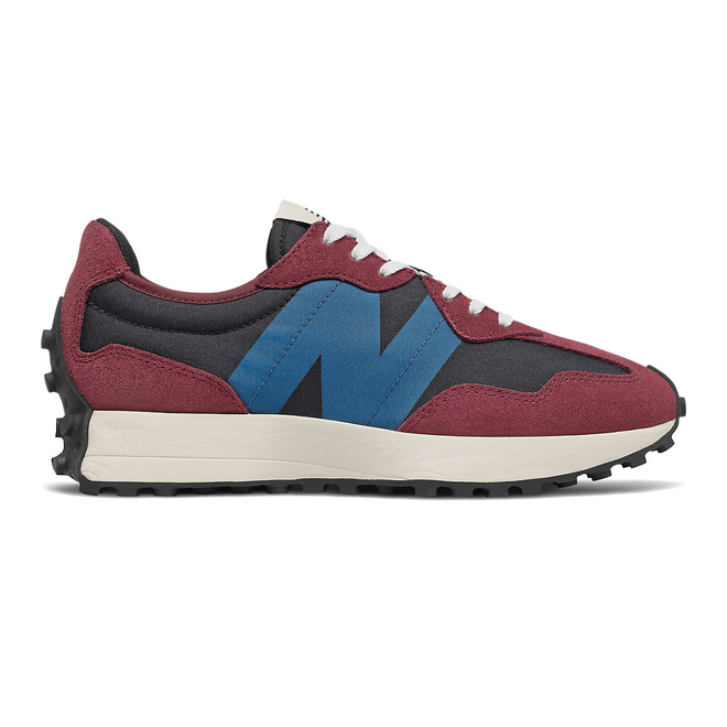 New Balance 327 - Classic Burgundy with Light Rogue Wave
