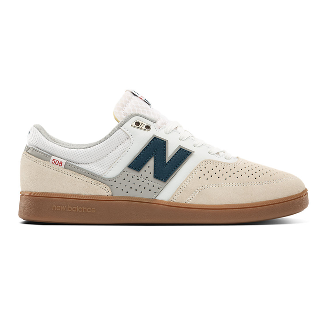 New Balance Numeric 508 - White with Blue