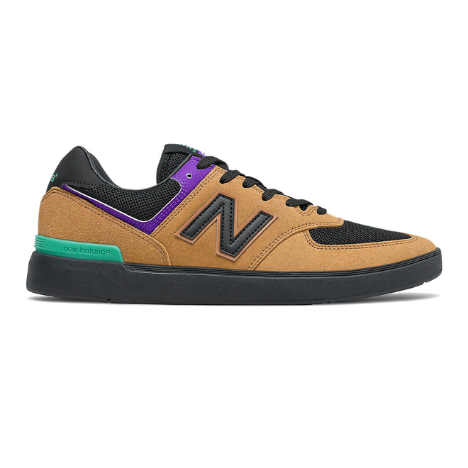 New Balance All Coasts 574 - Brown with Black