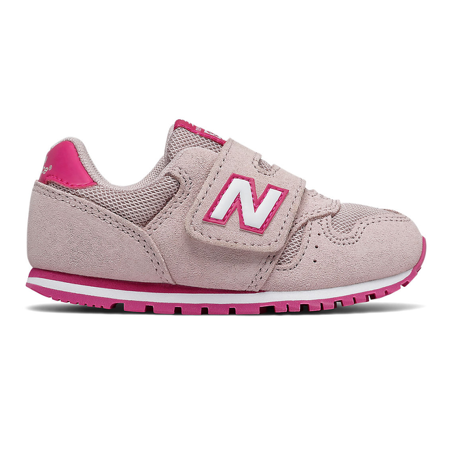 New Balance 373 Hook & Loop - Space Pink with Carnival