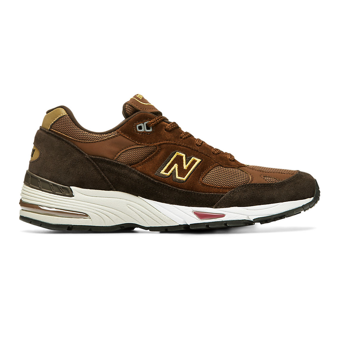 New Balance Made in UK 991 - Black Coffee with Brown