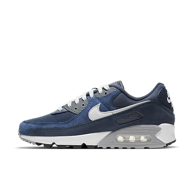 Nike Air Max 90 PRM Obsidian Summit White-Midnight Navy