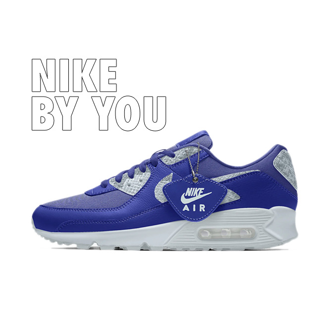 Nike Air Max 90 Premium By You zijaanzicht