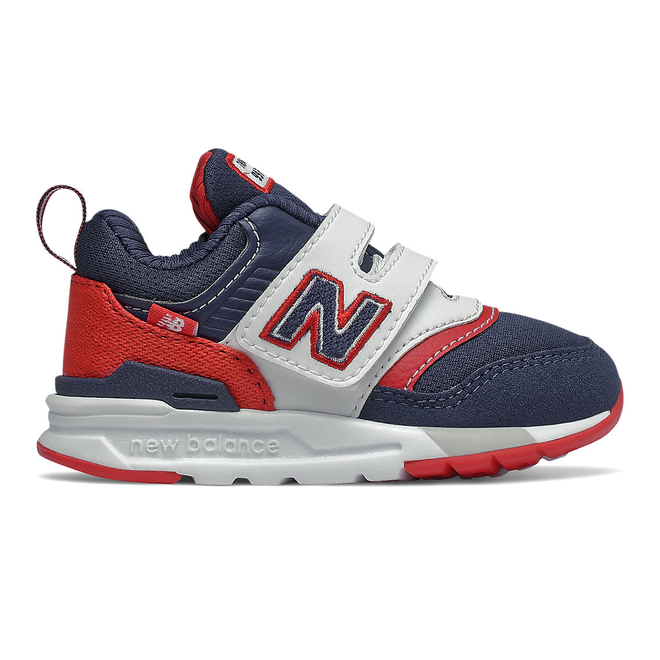 New Balance 997H - Natural Indigo with Team Red