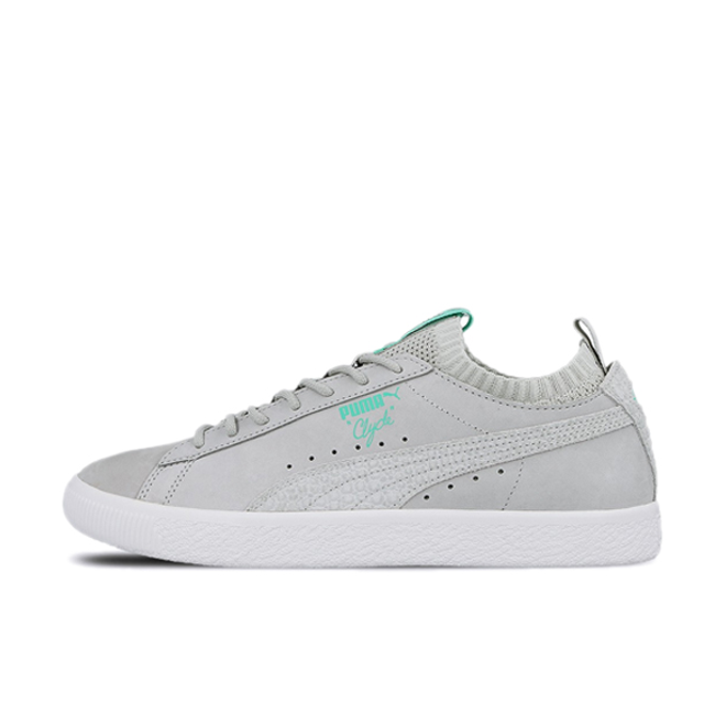 PUMA Clyde Sock Lo Diamond 'Grey/White'