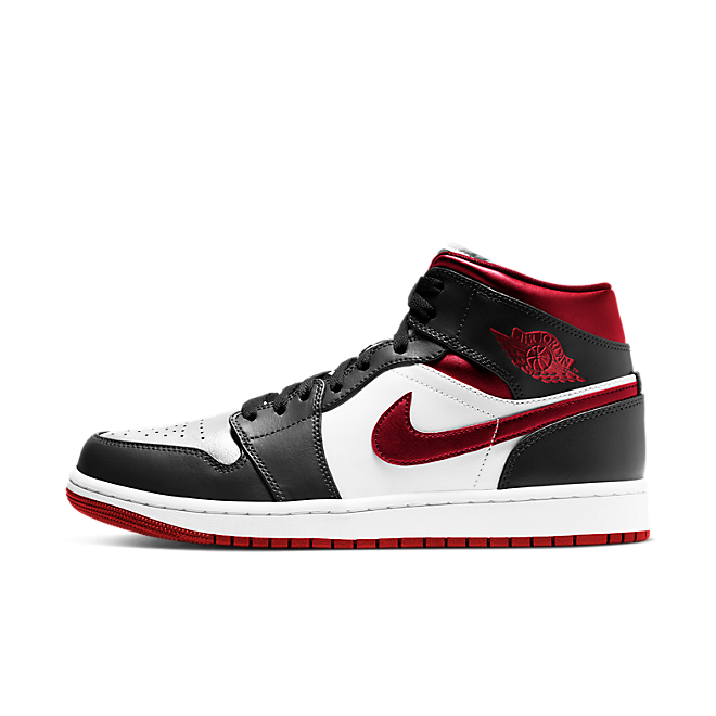 Air Jordan 1 Mid 'Metallic Red' 554724-122