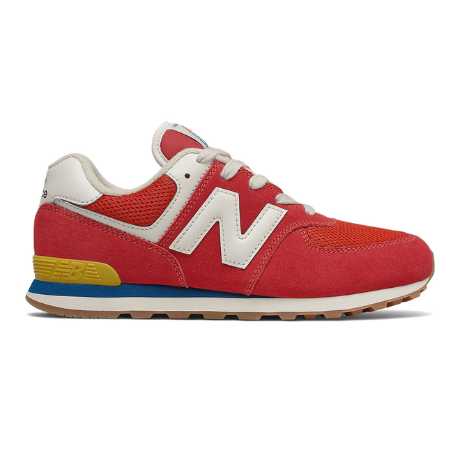New Balance 574 - Team Red with Light Rogue Wave