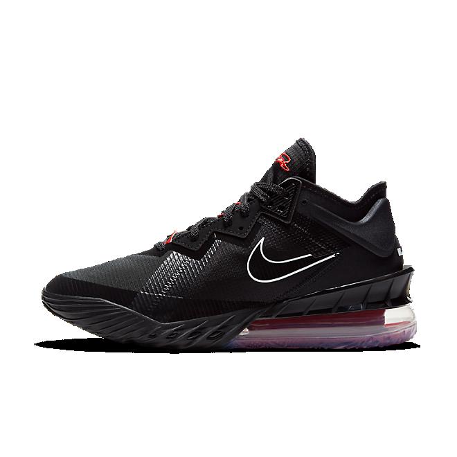 Nike Lebron 18 Low Black Red