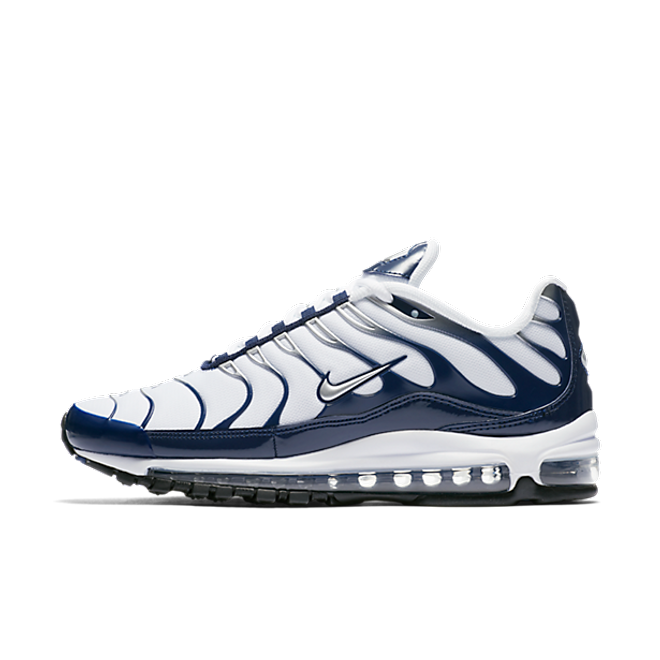 Nike Air Max 97 Plus 'Metallic Silver/Midnight Navy'