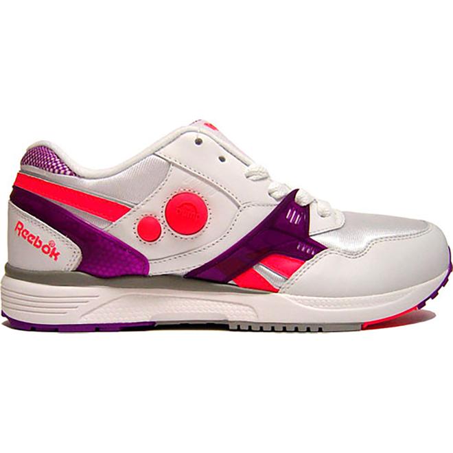 Reebok Pump Running Dual White Bright Purple Laser Pink