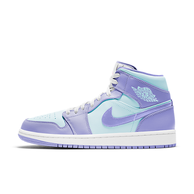 Air Jordan 1 Mid 'Purple Aqua'