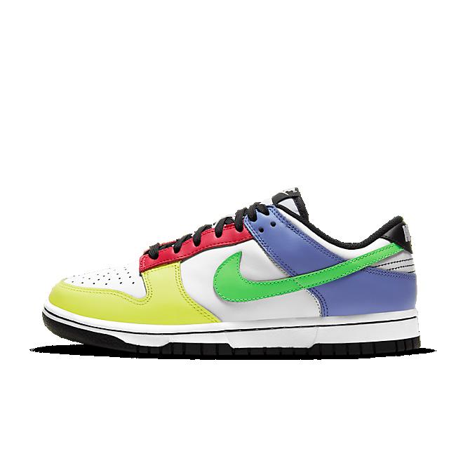 Nike WMNS Dunk Low 'Multicolor' zijaanzicht