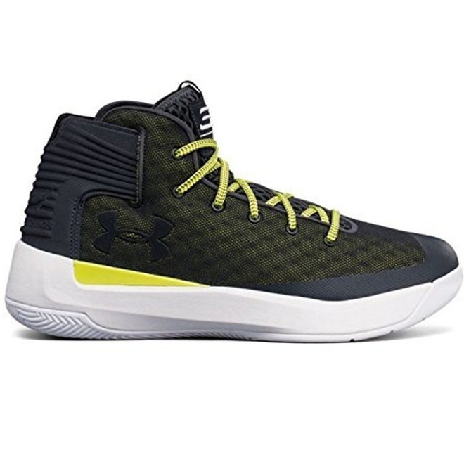 Under Armour GS Curry 3Zero Grijs Groen