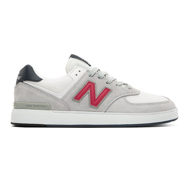 New Balance All Coasts AM574 - Grey with Red