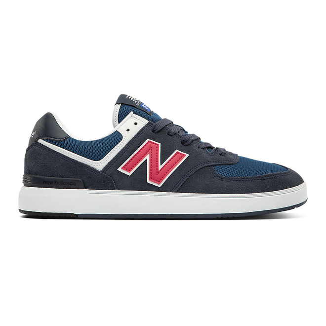 New Balance All Coasts AM574 - Navy with Red