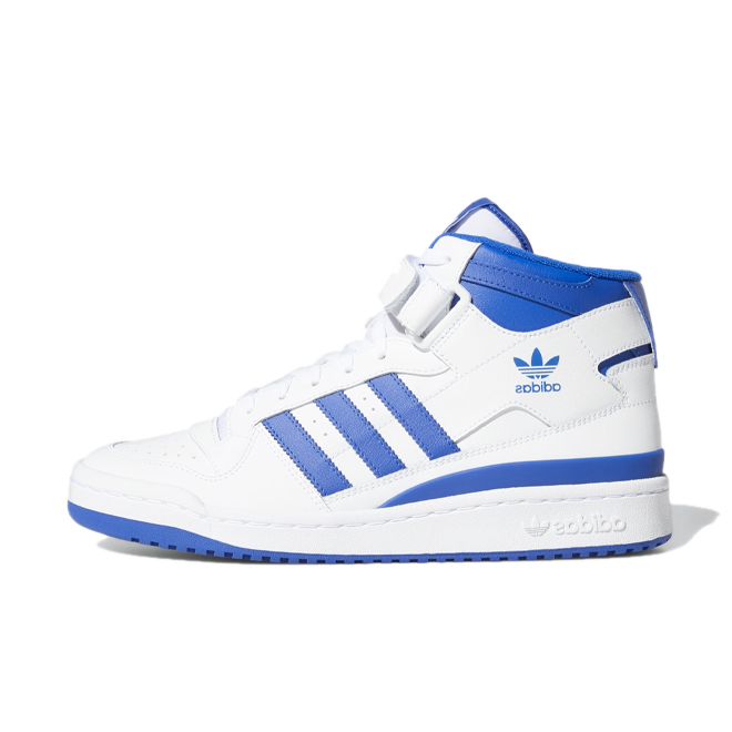 adidas Forum Mid 'White/Blue' zijaanzicht