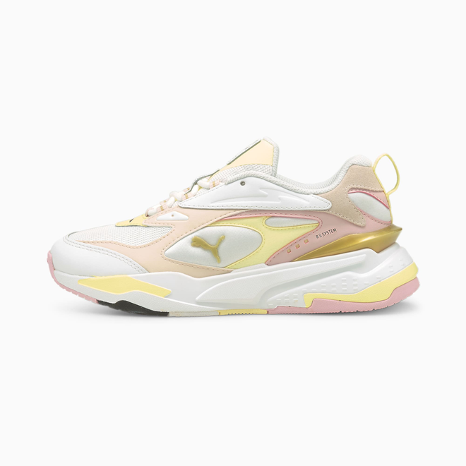 Puma Rs Fast Mix Gold Sneakers