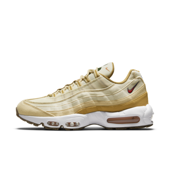Nike Air Max 95 Floral Pack 'Wheat' zijaanzicht