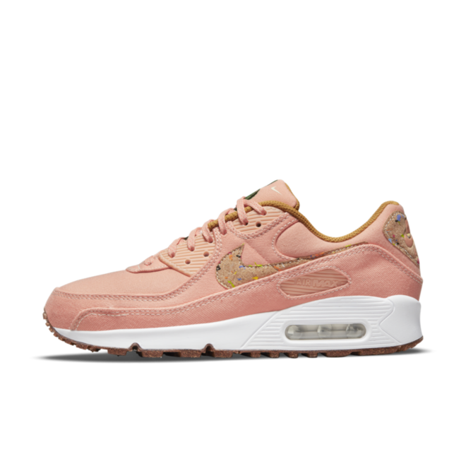 Nike Air Max 90 Floral Pack 'Pink' zijaanzicht