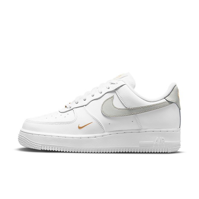 Nike Air Force 1 Low White Grey Gold
