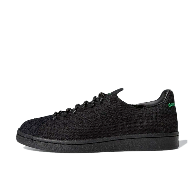 Pharrell Williams X adidas Superstar Primeknit 'Black'