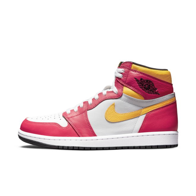 Air Jordan 1 High 'Light Fusion Red' 555088-603